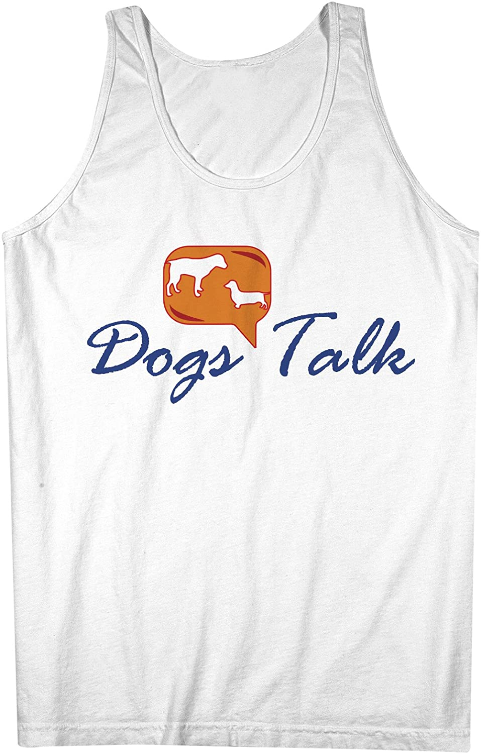 犬s Talk おかしいです Pet 男性用 Tank Top Sleeveless Shirt