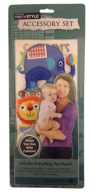 Baby Iron-on Applique Kit