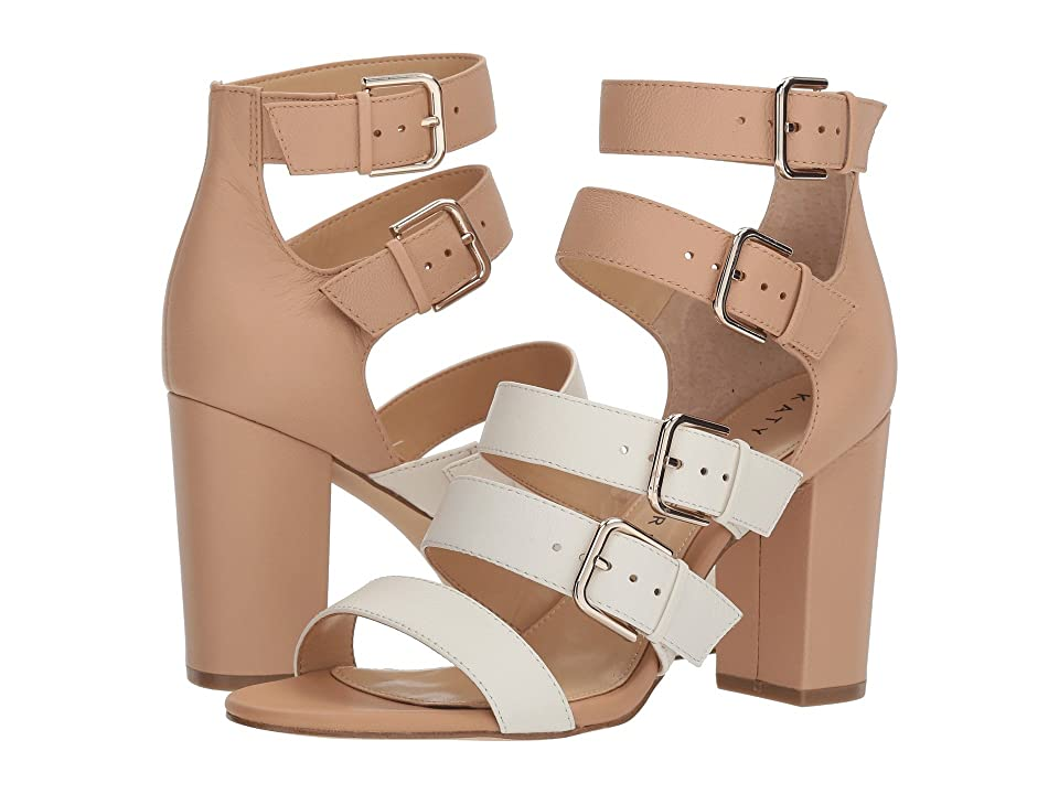 Katy Perry The Lizette (Ivory/Blush Nude Soft Tumbled Leather) Women