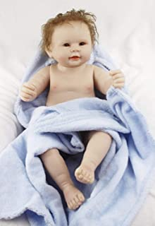 Reborn Baby Dolls Boy Full Body Silicone Lifelike Doll 22 inchs 55 cm Anatomically Correct Washable Toy Doll Handmade Children Gifts for Ages 3+ Prime
