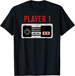 Matching Family Shirt Player 1 Video Game Shirt