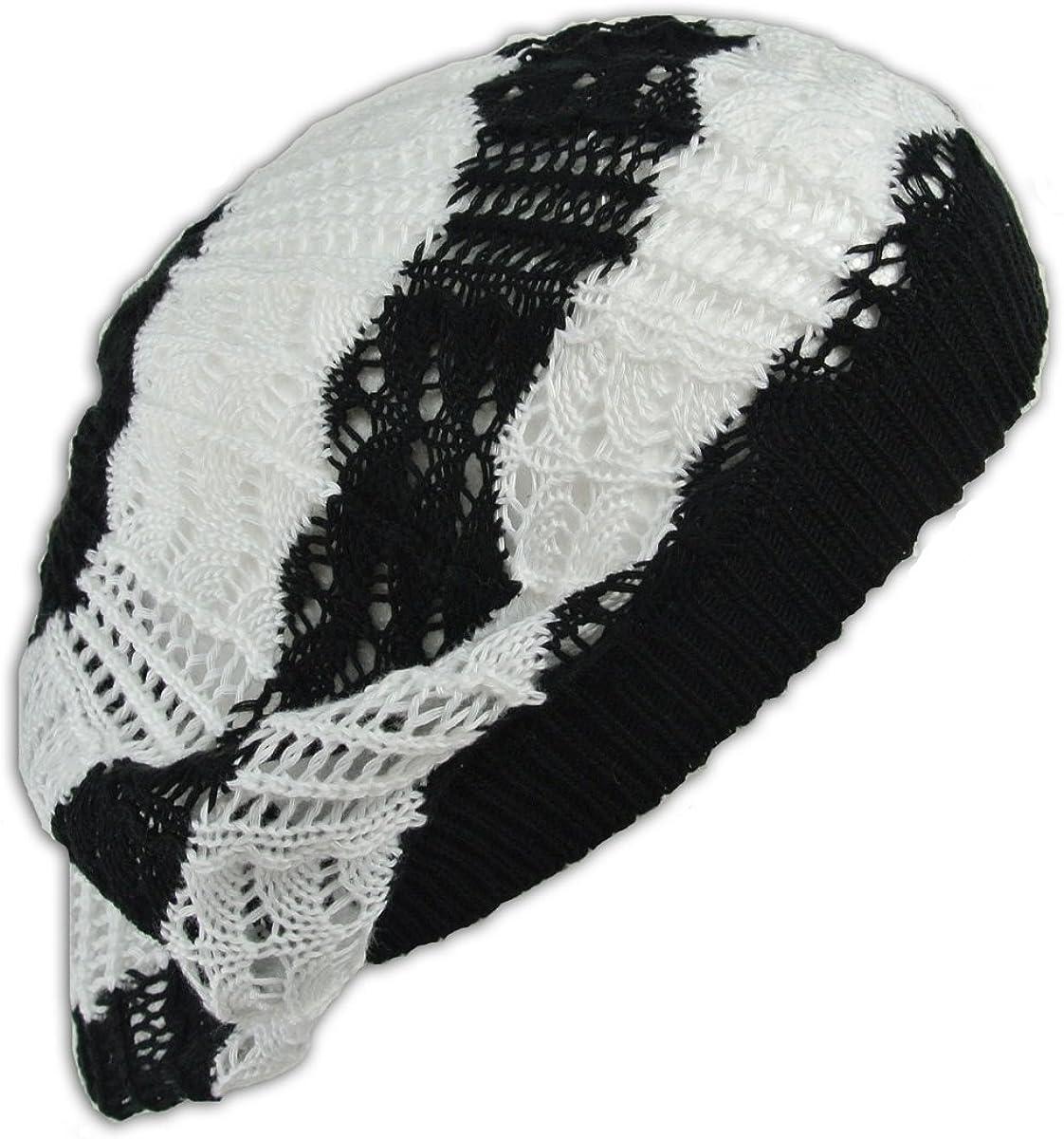 Jh Sports Crochet Beanie Hat Knit Beret Skull Cap Tam