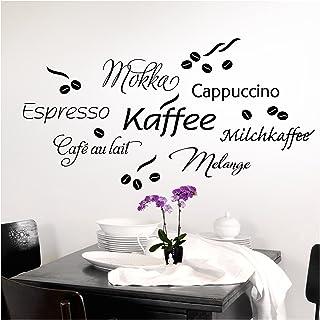 Grandora tatuaż ścienny do kawy kawa kubek do kawy I brąz