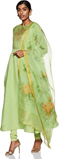 BIBA Women's Anarkali Salwar Suit Set
