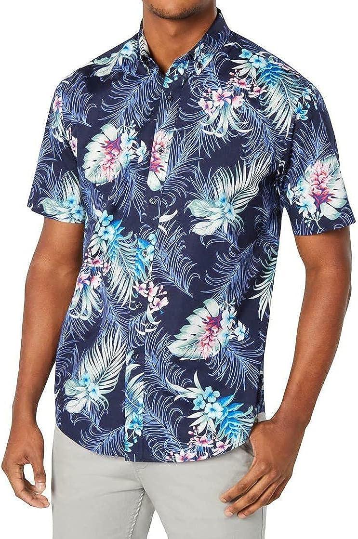 Max 56% OFF Club Room Mens Winslow Floral Button-Down Print Collar Nav Ranking TOP12 Shirt