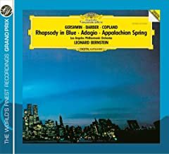 Gershwin Rhapsody In Blue Barber Adagio For Str