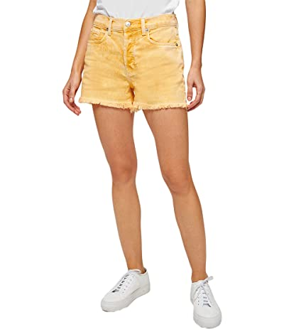 7 For All Mankind Monroe Cutoffs Shorts in Mineral Marigold (Mineral Marigold) Women