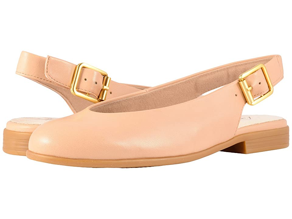 Trotters Alice (Nude Soft Leather) Women