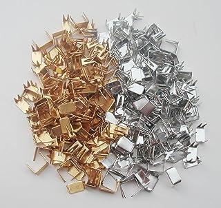 5Afashion Wholesale - #5 Zipper Repair Kit Solution -100 pcs of Brass Bottom Stoppers for Spiral Slider Bottom Rescue Repa...