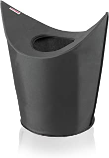 Leifheit Combi System Laundry Basket, Black, 60 x 35 x 80 cm