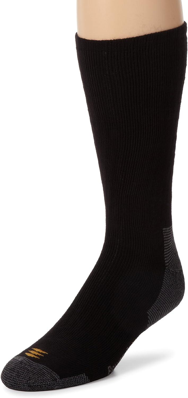 PowerSox Men's Bootsocks Medium Cushion Cotton Crew Socks, 3 Pairs