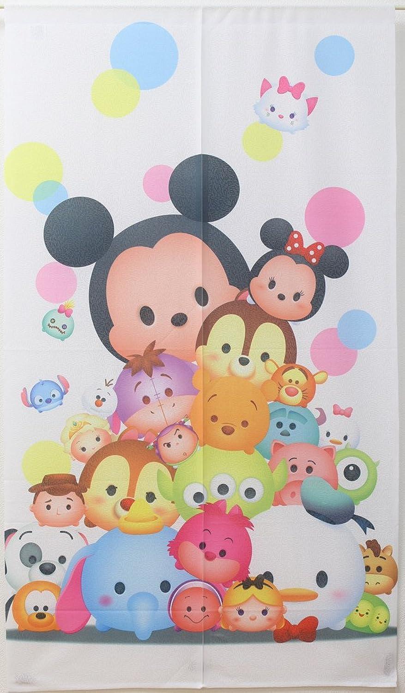 Disney noren(Japanese Curtain) Tsumu Tsumu 85x150 from Japan