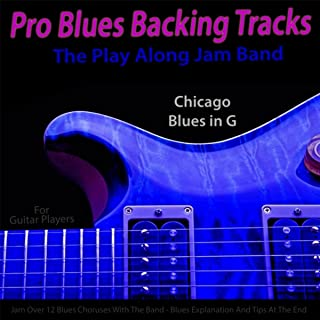 blues guitar jam tracks pro