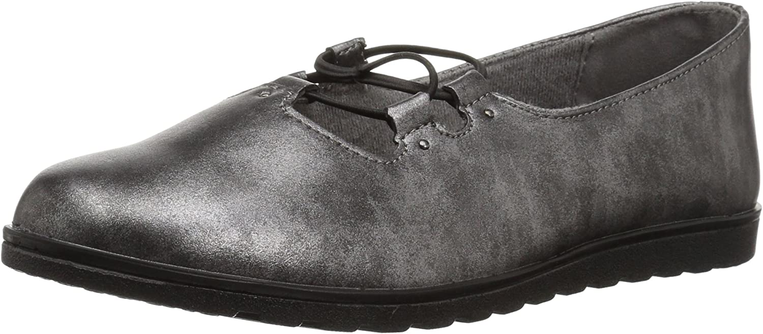 Easy Street Womens Effie Flat
