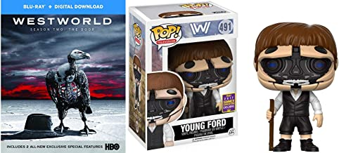 Something Is Not Right Here: Westworld Season 2: The Door (Blu-Ray) + Funko POP! Television: Westworld Young Robotic Dr. Ford pop! (SDCC Exclusive) HBO Bundle
