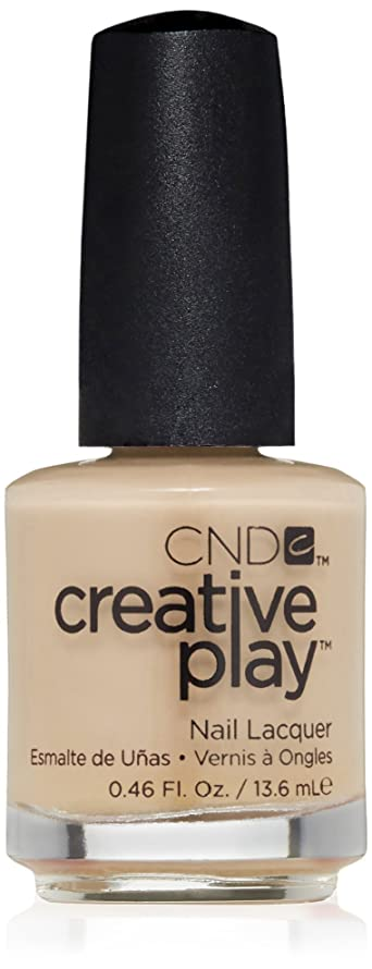 世辞シリーズ証拠CND Creative Play Lacquer - Clementine, Anytime - 0.46oz / 13.6ml