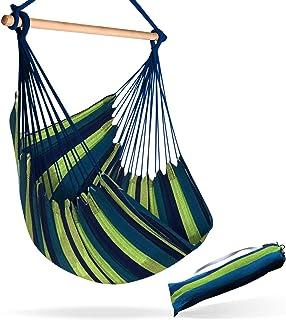 Hammock Sky Large Brazilian Hammock Chair Cotton Weave – Extra Long Bed –..