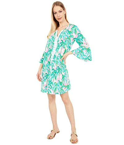 Lilly Pulitzer Hollie Tunic Dress (Pink Blossom Suite Views) Women