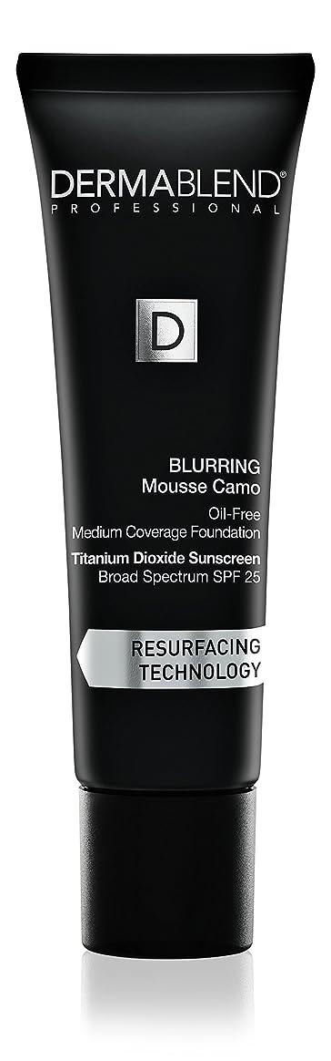 困ったセメントピニオンダーマブレンド Blurring Mousee Camo Oil Free Foundation SPF 25 (Medium Coverage) - #40W Sahara 30ml/1oz