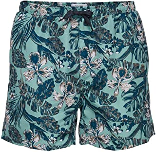 ONLY & SONS ONSTED Swim AOP2 GD 6137 - Tobillera, color azul
