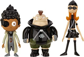 Phineas and Ferb Figure Pack Assortment 5 - DCOM Candace, Baljeet, Beauford (Resistance Team)