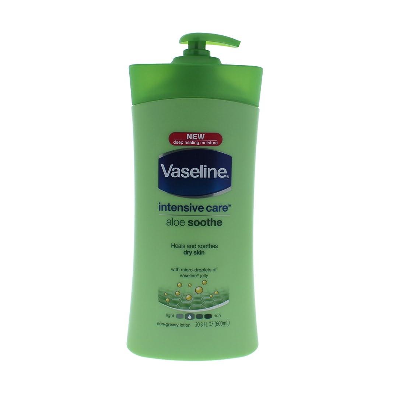 毎年十分なに沿ってヴァセリン 乾燥肌集中ケアボディローション (アロエスーズ) 600ml /Vaseline/ワセリン/ [並行輸入品]