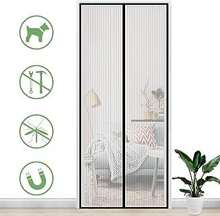 Gimars Cortina mosquitera doble magnetica puerta exterior