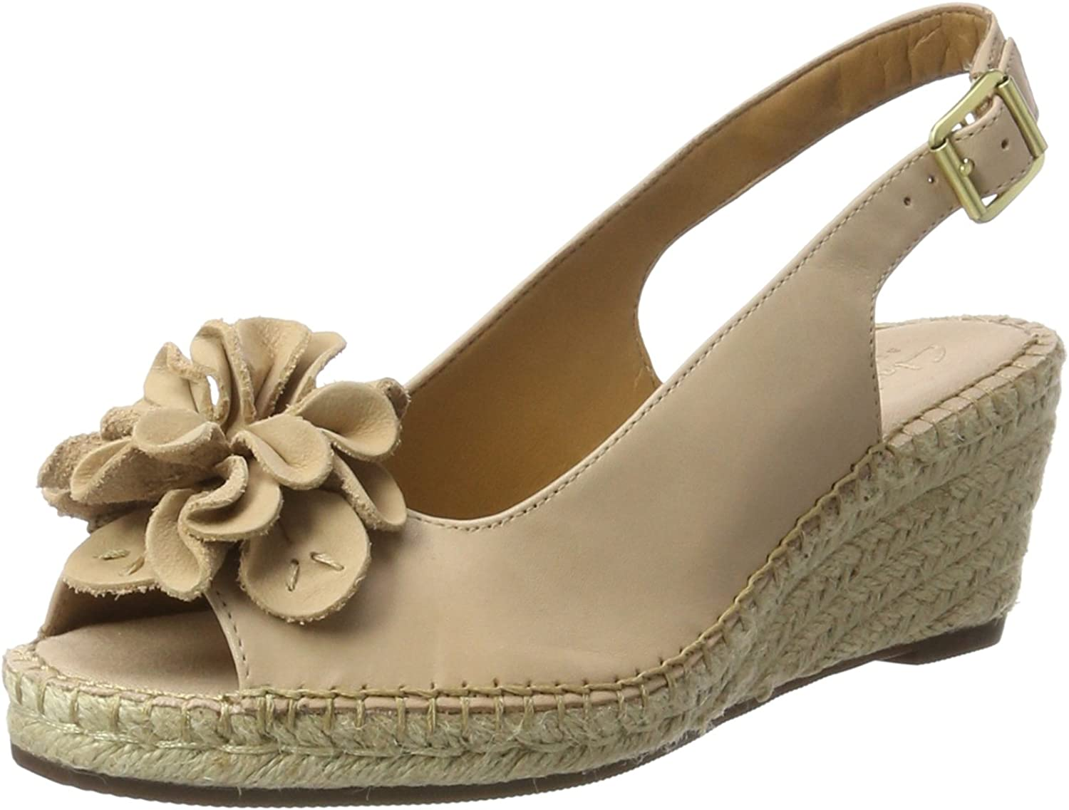 Clarks Petrina white Sandals Nude Leather