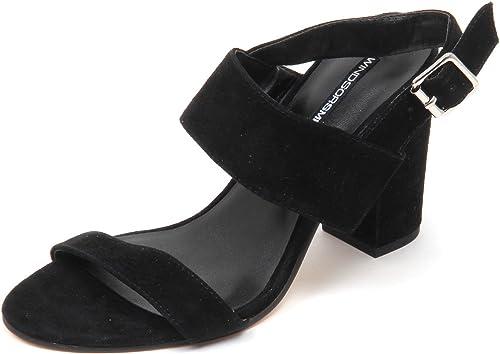 Windsor smith D5270 (Without Box) Sandalo Sandalo Sandalo femmes noir chaussures Woman 718
