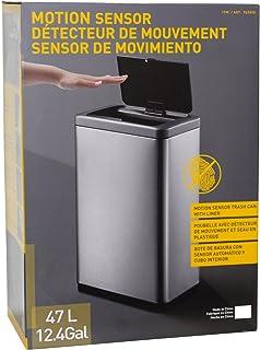 EKO フタ付きゴミ箱 インナーボックス付き 47L センサーゴミ箱