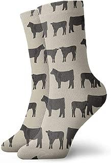 Funny Novelty Patterned Dress Socks Colorful Casual Cotton Sock for women, men