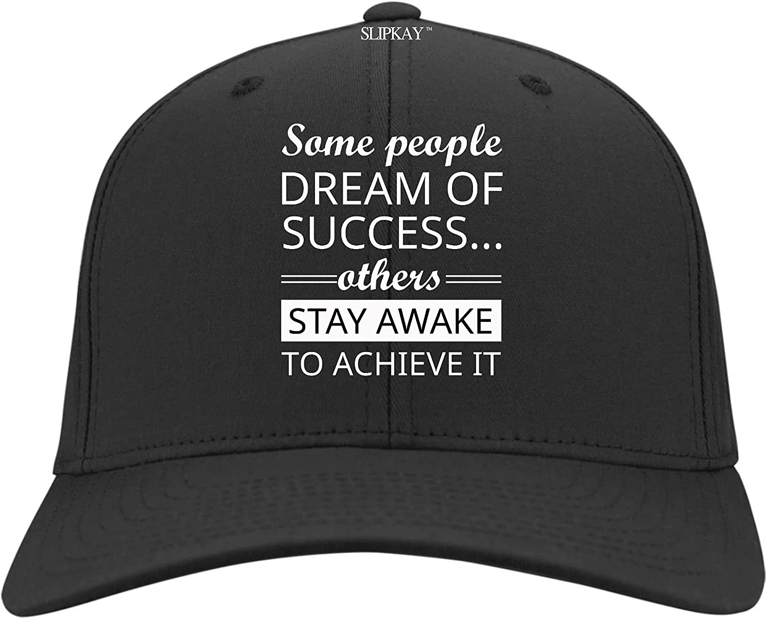 GAMILAN Some People Dream of Success Others Stay Awake to Achieve It Hat,Twill Cap