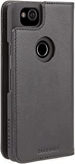Case Mate Pixel 2 Wallet Folio - Leather Wallet - ID + Cards + Cash - Protective Design for Google Pixel 2 - Black
