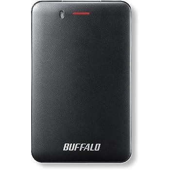 BUFFALO USB3.1(Gen1) 手のひらサイズ 小型ポータブルSSD 480GB ブラック SSD-PM480U3-B/N 【PlayStation4 メーカー動作確認済】