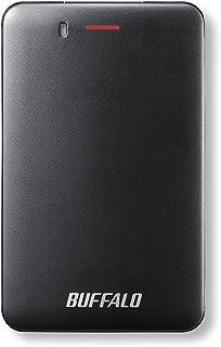 BUFFALO USB3.1(Gen1) 小型ポータブルSSD 240GB ブラック SSD-PM240U3-B