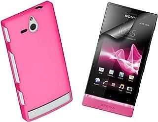 Sony Tillbehörspaket inklusive skyddande klämma på skal skal skydd och två skärmskydd för Sony Xperia U från Made for Xper...