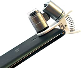 Cell Phone Microscope Lens with 60X Magnifying Glass has LED and UV Lights Compatible with iPhone, Samsung and Other Smartphones and Tablets with Camera Lenses by Wesley's as you wish
