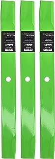 8TEN LawnRAZOR Hi-Lift Blade 60 Inch Deck for Gravely Promaster 250Z 300 08781800 08899000 08979600 08904600 3 Pack