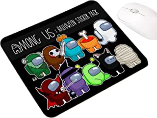 Among Us Crewmates Game Fashion Rubber Waterproof Non-Slip Office Computer Mouse Mat 9.8x11.8inch