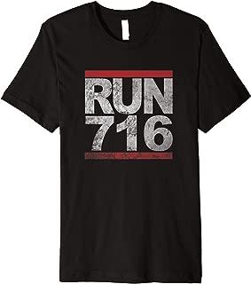 Run 716 T-Shirt Buffalo NY Jogging Shirt