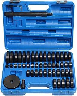 CYQAQ Bearing Presss Puller Kit Wheel Seal Mounting Bushing Removal Assembly Discs Set 18mm-74mm 52pcs