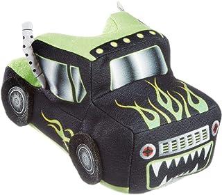 3D Thick Plush Truck Slippers Little Boys Non Slip Full Foot