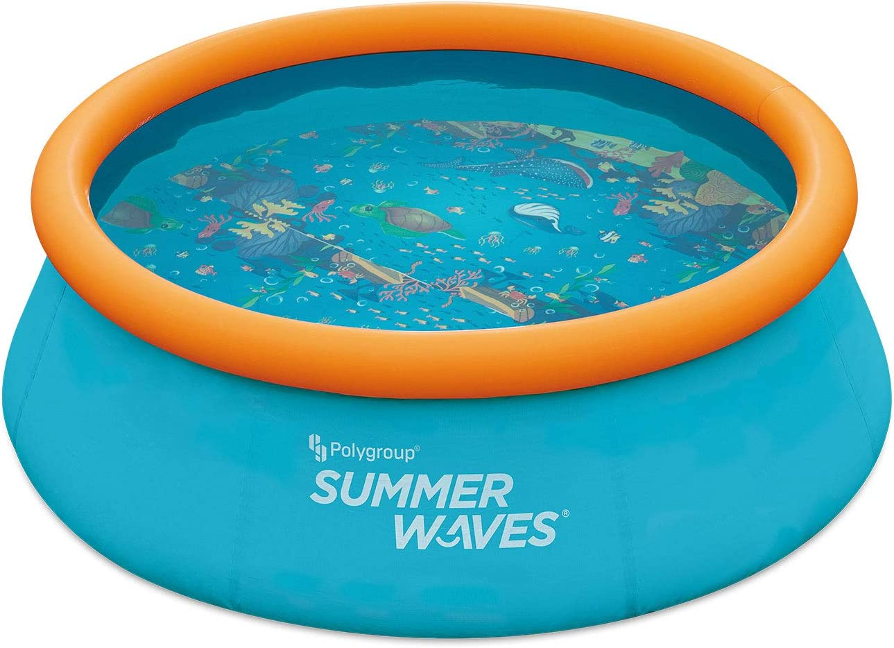 Summer Special Campaign Waves P1C008303 8 Foot Wide Max 77% OFF Quick Set Ring Top Inflatable