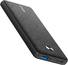 Anker PowerCore Metro Slim 10000 PD, 10000mAh Portable Charger USB-C Power Delivery (18W) Power Bank for iPhone 11/11 Pro ...