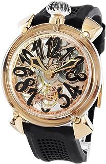 ガガミラノ マヌアーレ48MM クリスタル 腕時計 メンズ GaGa MILANO 6091.04[並行輸入品]