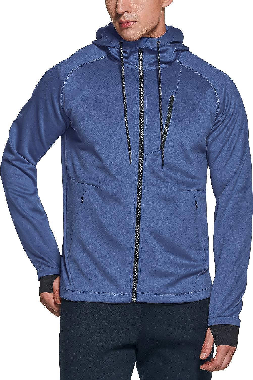 Free shipping on posting reviews TSLA Men's Full Zip Up Hoodie Jacket Tr Long store Sleeve Performance