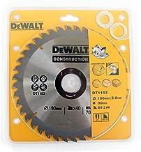 Dewalt DT1153-QZ - Hoja de sierra circular s30 190 x 30mm 40d atb +10