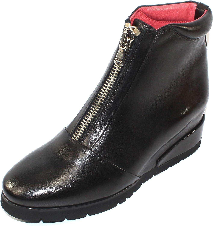 Pas De red Women's Lamer 2042 in Black Nappa Leather - Size 39 M