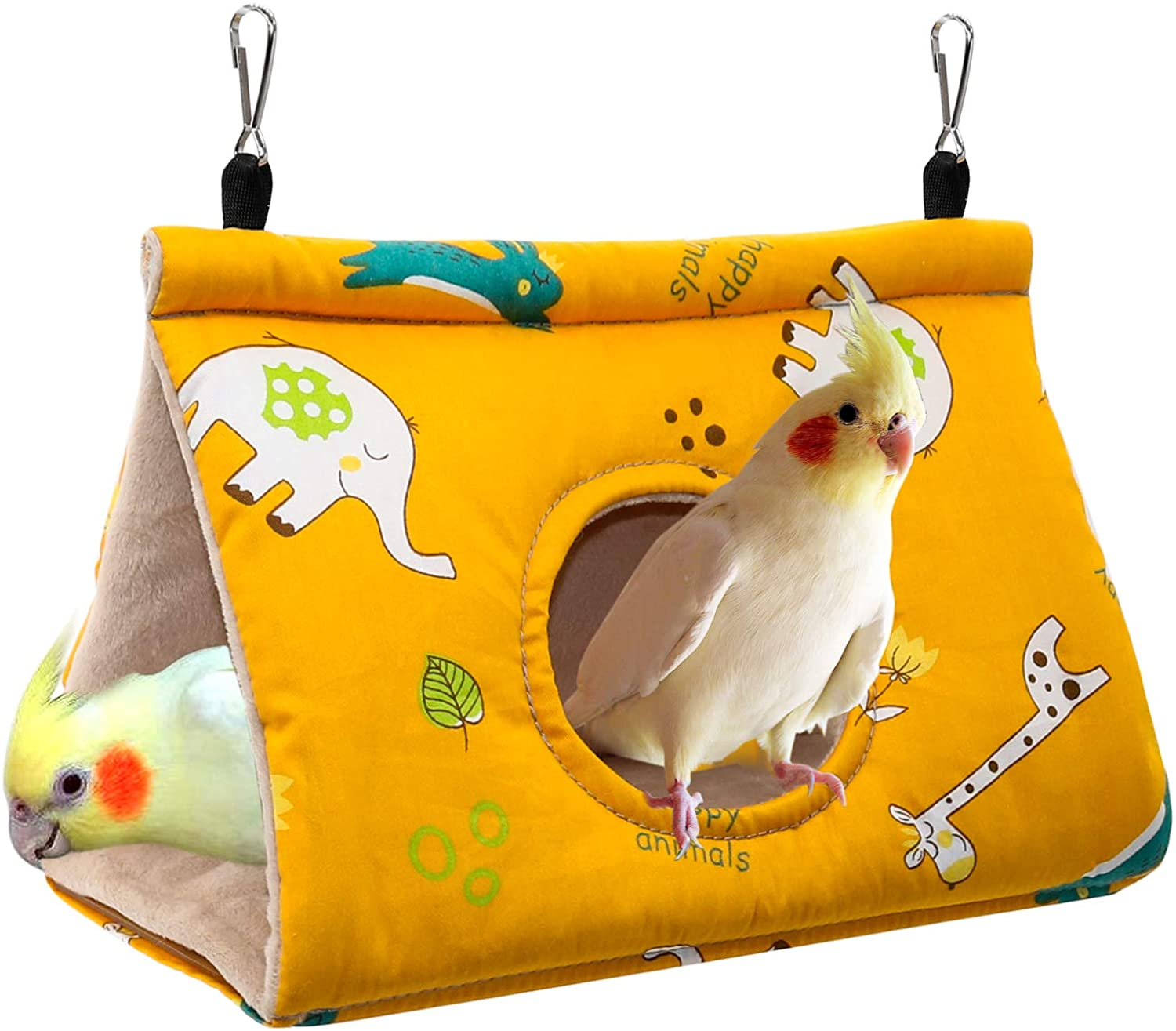 Rypet Winter Don't miss the campaign Warm Bird Nest House Hammock free Velvet Shed - Hanging