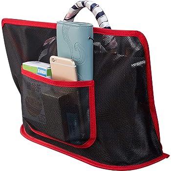 Seat Back Net Bag Auto Interior Accessories for Car Dheera Car Net Pocket Handbag Holder Organizer,Car Mesh Organizer Car Storage Organizers